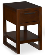 discount copper end table