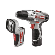 bulk craftsmans poweder drill with flashlight