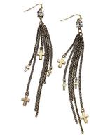 cross chains earrings suppliers