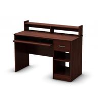 surplus dark brown small office desk