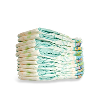 clearance diapers pile