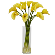 discount fake flower vase