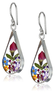 flower earrings shelf pulls