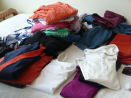wholesale folded clothes