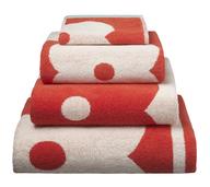 liquidation giant flower towel stack