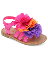 girls frill sandals closeouts