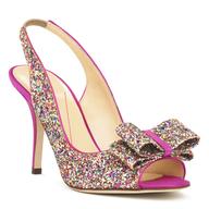 clearance glitter heel