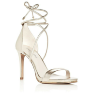 clearance gold kenneth cole sandal heels
