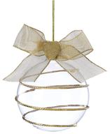 gold swirl ornament closeouts