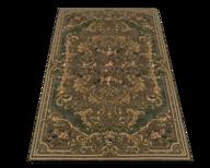 green brown rug shelf pulls