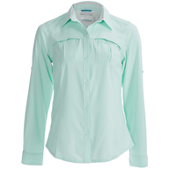 salvage green collared shirt