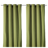 clearance green drapes