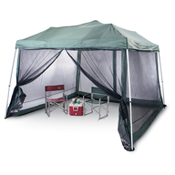 salvage green outdoor canopy