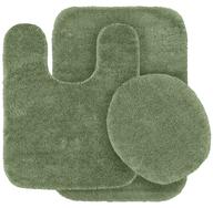green rug set pallets