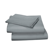 overstock grey cotton sheets