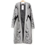 grey long sweater in bulk