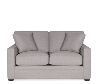 grey loveseat pallets