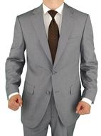 grey mens suits shelf pulls