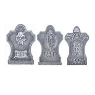 salvage halloween tombstones