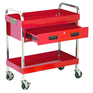 harbor freight red service cart pallets