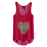 discount heart top rue 21