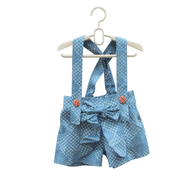 jumpsuit childrens blue white truckloads