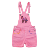 kids pink overall in bulk