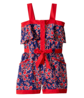 salvage kids red blue romper
