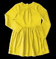 kids yellow dress in bulk