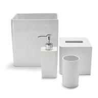 surplus lacca white bath accessories