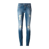 clearance light blue ripped skinny jeans