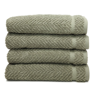 overstock light olive towels
