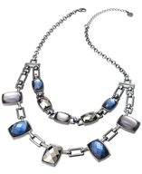 link stone necklace closeouts