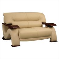salvage loveseat couch beige