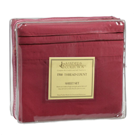 maroon bed sheets in bulk