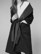 overstock massimo dutti reversible hooded coat