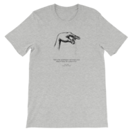 discount men grey t shirt