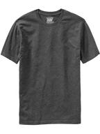 bulk mens grey basic tshirt
