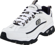 salvage mens white sketchers
