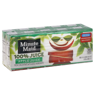 surplus minute maid apple juice pack