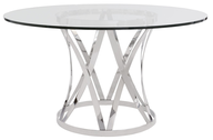 modern dining table clear deals