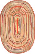 multi color rug shelf pulls