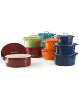 multicolored pots in bulk