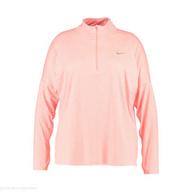nike plus size running dry performance sports shirt shelf pulls