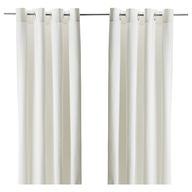 overstock off white curtains