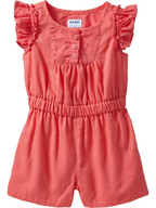 salvage old navy=pink romper