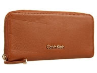 closeout orange calvin klein wallet