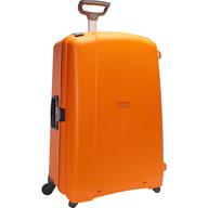 orange hard cover luggage deals