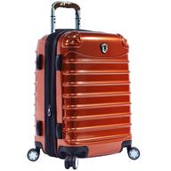 orange hard luggage closeouts