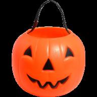 orange pumpkin candy holder liquidators